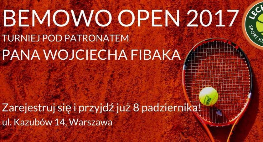 Inne dyscypliny, Turniej tenisa ziemnego Bemowo 2017! - zdjęcie, fotografia