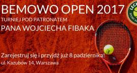 Turniej tenisa ziemnego Bemowo Open 2017!